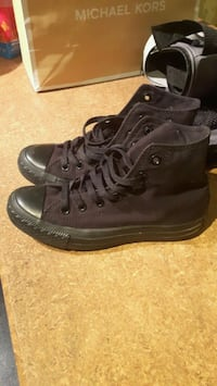 Black high top chuck Taylor size 6.5 Calgary, T2C 1X3