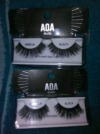 two black AOA Studio false eyelashes Sacramento, 95838