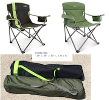 Foldable Camp Chair (got 2, $45 each)