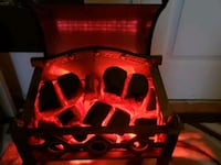 Electric Fireplace with heater Toronto, M3C 3A3