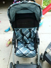 baby's black and blue stroller Rochester, 55902