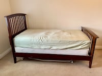 Excellent condition: Mattress, Box spring, Bed frame etc Sunnyvale, 94086