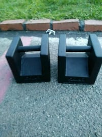 Blockdumbbells 50 pounds each Compton, 90220