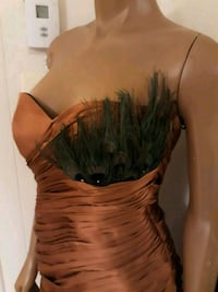 women's brown and black spaghetti strap dress Milford Mill, 21244