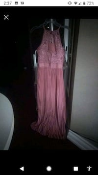 Blush pink long dress from Macy's, never worn Mississauga, L4Z 2L5
