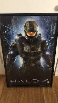 Halo 4 framed poster