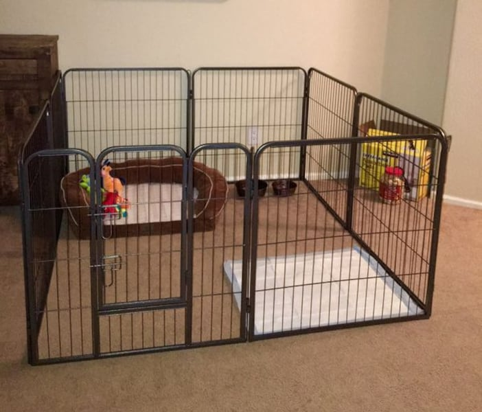 NEW!! Dog Fence - Heavy duty Panels - Indoor and Outdoors. aecddcaf-e0ad-41e8-810f-de7d9f6c39c4