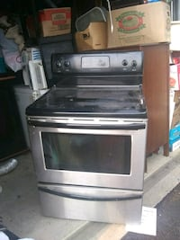 gray and black induction range oven Cleveland, 44102