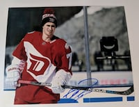 Dylan Larkin Signed 11x14 Photo Detroit Red Wings Deux-Montagnes, J7R 6N3