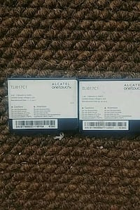 2 alcatel one touch batteries