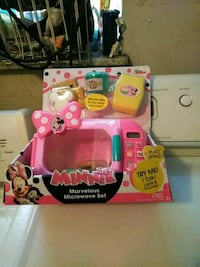 Minnie mouse microwave