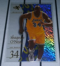 Skybox Los Angeles Lakers Shaquille O'Neal Card