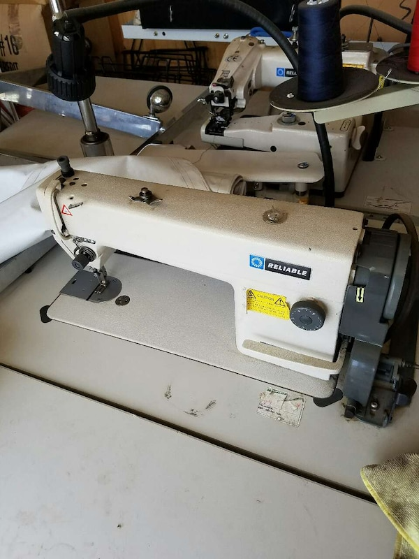 Used RELIABLE COMMERCIAL SEWING MACHINE SINGLE For Sale In Clovis Best Commercial Sewing Machines For Sale Used