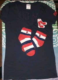 Love Pink Boston Red Sox T-shirt and Boston sox. Shirt new w/out tags Indianapolis, 46227