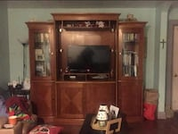 brown wooden TV hutch. TV not included Gettysburg, 17325