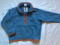 Patagonia Boys 5-6 Fleece Pullover Jacket Coat Sweater Western Springs, 60558
