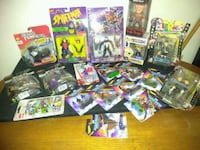 Mixed 19 toys in original packaging Marvel ++