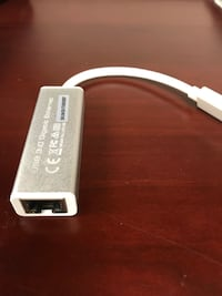 USB 3.0 gigabit Ethernet adapter Annandale, 22003