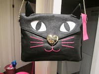 Cute Betsey Johnson Small Purse - Cat Head - New with Tag TORONTO