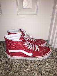 High Top Red Vans
