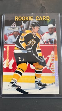Hockey Joe Thornton 1997 Pinnacle Rookie Card