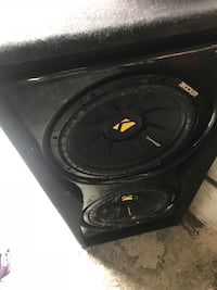 """Kicker 12""""s ported box!!!!! West Valley City, 84128"""