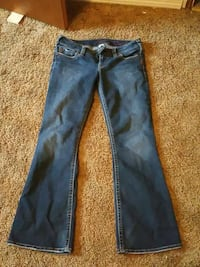Silver 'Tuesday' Jeans Size 29x31