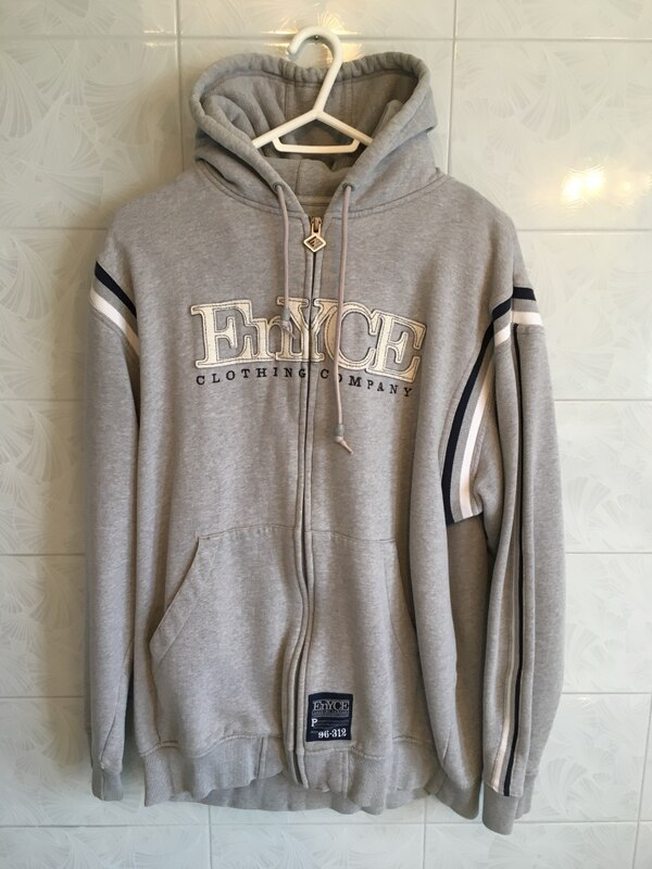 Enyce Grey Hoody Sweater Size Large New