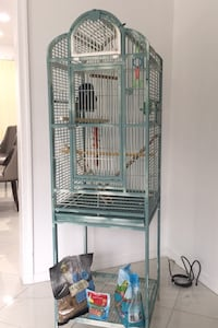 Cage, (parakeet food included )