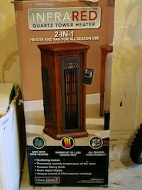 Infrared Quartz Tower Heater  Mokena, 60448