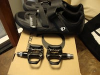 PEARL IZUMI SELECT RD V5 CYCLING SHOES - MEN'S 11.5 + Pedals Kitchener