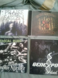 INDIE BANDS  -4 GREAT CDS/$20 Toronto, M9C