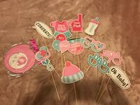 Baby shower photo booth props  Milton, L9T 0J3