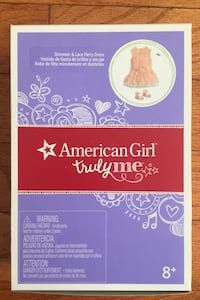American Girl Shimmer and Lace Party Dress NEW  Herndon, 20171
