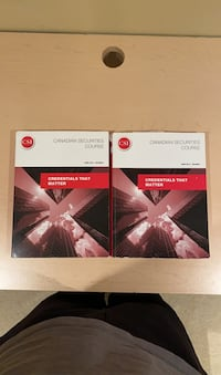 Canadian Securities Course Books Toronto, M8X 1T4