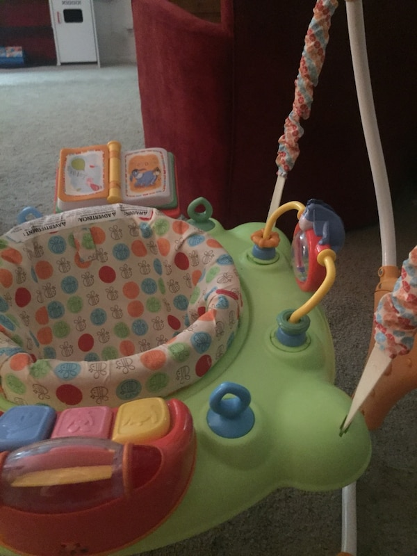 c4bd7f848ee0 Used Winnie the Pooh activity bouncer for sale in Costa Mesa - letgo