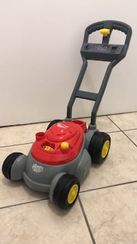 red and black push lawn mower Mississauga, L5L 2G2
