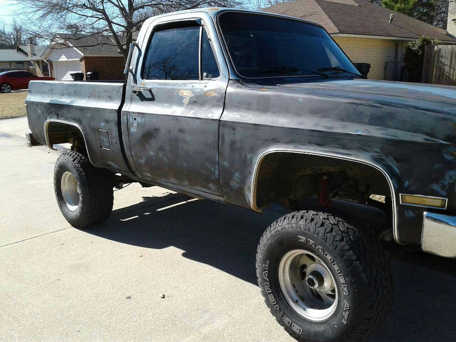 Used 85 Chevy Swbed 4x4 6inch Lift In Oklahoma City