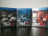 True Blood, Season 2, 3 & 4 Blu-Ray plus DVD + Dig Markham, L3R 8W3