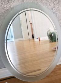 Mirror oval frosted edges  King, L0G 1N0