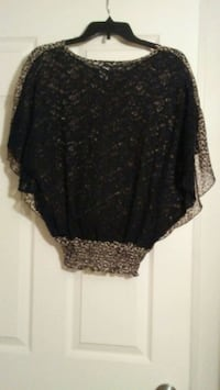 women's black and gray floral skirt El Paso, 79907