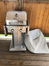 stainless steel outdoor grill with cover St Albert, T8N 5P8