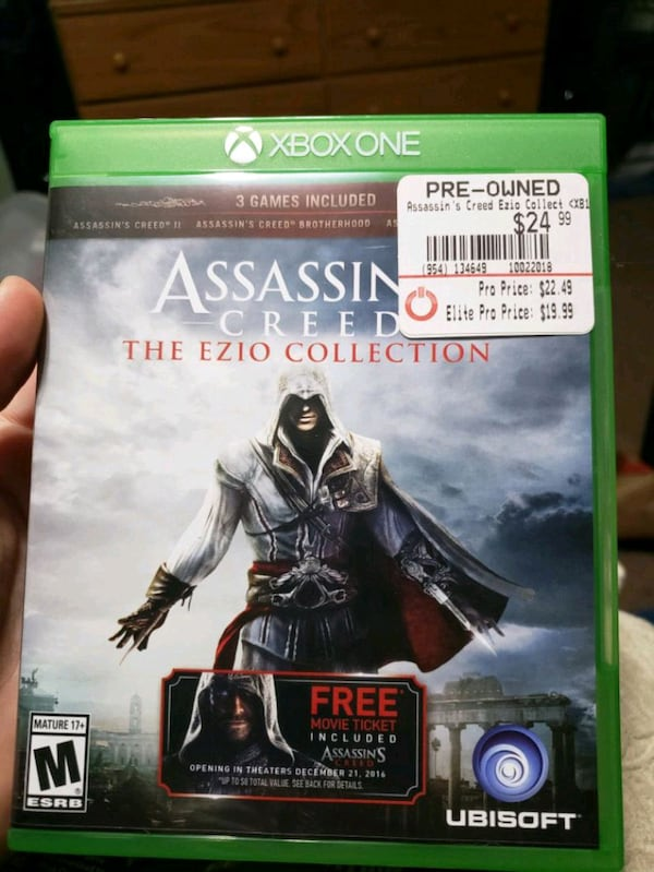 Used Assassins Creed Ezio Trilogy For Sale In Yale Letgo