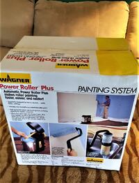 WAGNER POWER ROLLER PLUS PAINTING SYSTEM - AUTOMATIC POWER ROLLER PLUS FASTER, EASIER, AND NEATER Pasadena