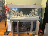 Fish tank 150 gallon, Stand and Lot of accessories.. Silver Spring, 20902