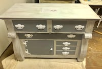 black and gray wooden dresser East Haddam, 06423