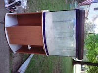 Fish tank w/stand and cover w/lights KENT