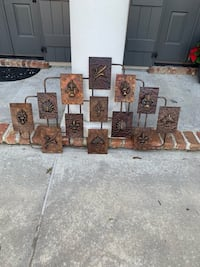 Brown and black wooden wall decor Baton Rouge, 70809