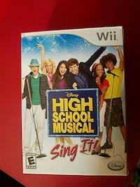 HSM Sing It! Wii Video Game Like New!  Bolingbrook, 60440