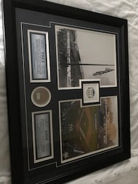 NY Yankees MLB Collage Authentic Dirt Yankee Stadium Steiner COA